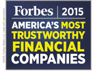 Forbes America's Most Trustworthy Financial Companies